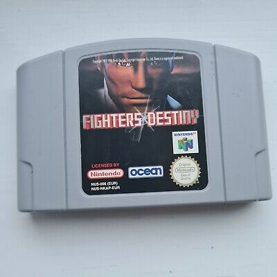 Fighters destiny N64 Nintendo 64 Pal Game cartridge only Tested Working