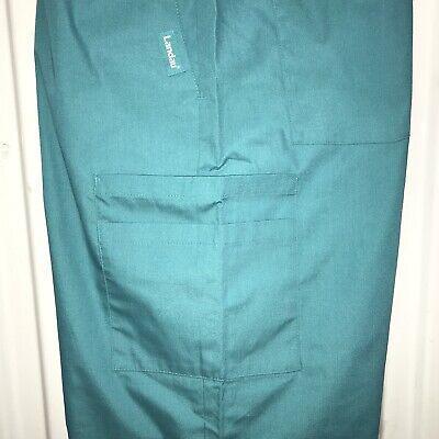 - Classic Fit Landau Green Scrub Pants 8320 2XL Bundle Of 2 Bottoms