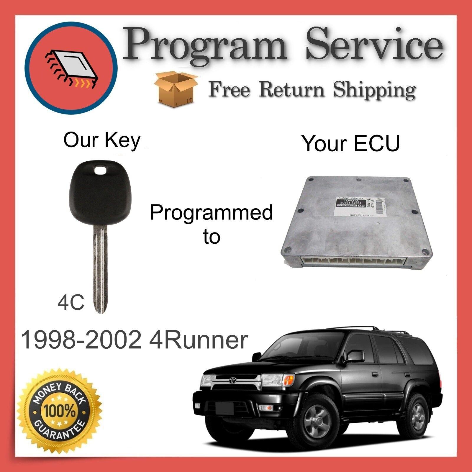✅ ECU ECM KEY PROGRAM | Toyota 4Runner 1998 1999 2000 2001 2002 | 98 99 00 01 02