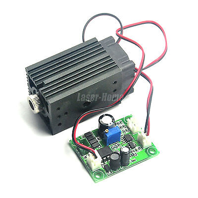 Focusable 405nm 50mw Buleviolet Laser Line Diode Module Ttl Long Time Working