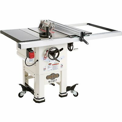 Shop Fox Hybrid Open Stand 10in Table Saw- 2 HP 120 Volts 15 Amps 1-Phase