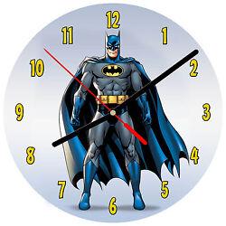 8 WALL CLOCK - BATMAN #1 Kids Room Kitchen Office Bathroom Bar Bedroom