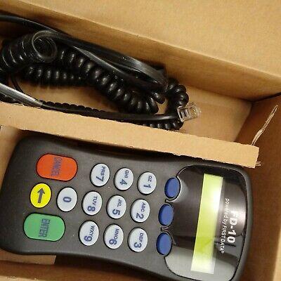 First Data Fd-10 Debit Credit Card Pin Pad 8001 Pci Terminal
