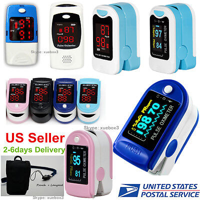 Finger Pulse Oximeterspo2 Blood Oxygen Monitorpulse Heart Rate Meternew Hot