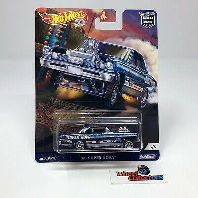 SALE!  '66 Super Nova * Blue * Hot Wheels Drag Strip Car Culture * HH39
