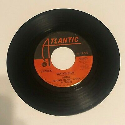 ABBA Waterloo / Watch Out 45 RPM Atlantic