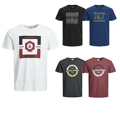 Jack & Jones Mens Big and Tall T-Shirt JJcocomplete Tee Ss Short Sleeve 5XL-8XL