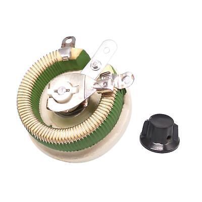100w 5 Ohm High Power Wirewound Potentiometer Rheostat Variable Resistor