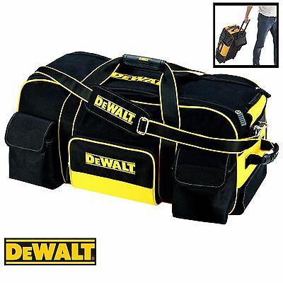 DeWalt DWST1-79210 Heavy Duty Wheeled Storage Duffle Bag c/w Pull Handle
