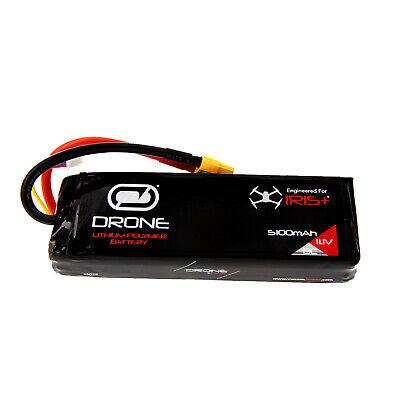 3DR Iris+ 3S 5100mAh 11.1V RC LiPo Drone Quadcopter Battery w/XT60 Pigtail by Venom