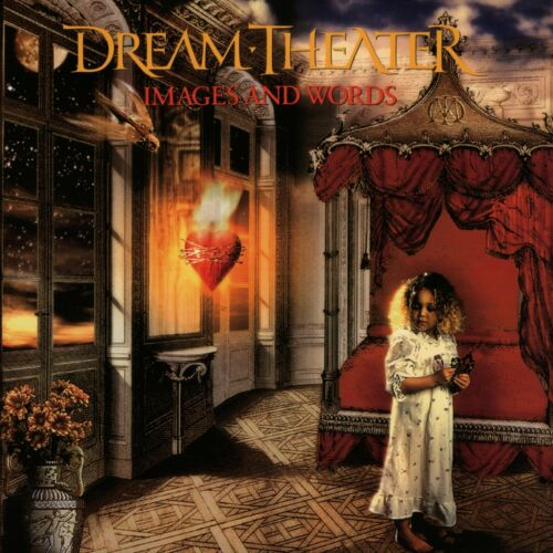 DREAM THEATER Images and Words BANNER HUGE 4X4 Ft Fabric Poster Tapestry Flag