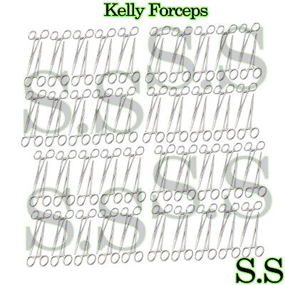 Kelly Hemostat Locking Forceps 5.5 Straight- O.r. Grade Fishing - Choose Qty