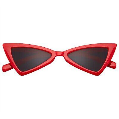 Sunglasses Women Triangle Sunglasses UV Glasses Retro Cat Eye (Triangle Glasses)