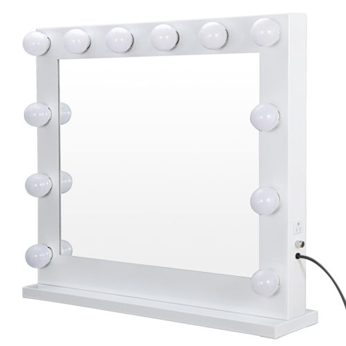 Vanity Mirror With Lights – Hollywood Style Makeup Mirror with 14 Dimmable LEDs Health & Beauty