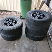 Set of 5 rims and tyres Kariong Gosford Area Preview