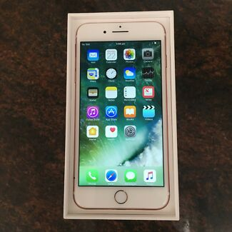 iPhone 7 Plus 256gb Gold Unlocked in Like New Condition