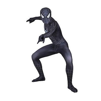 Black Venom Spider-man Cosplay Costume Spiderman Zentai Suit  For Adult & Kids](Venom Costume For Child)
