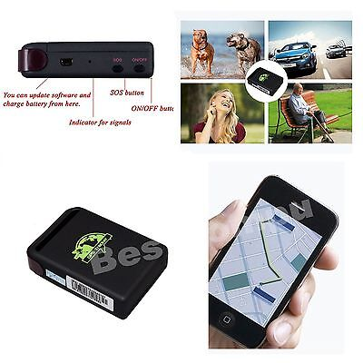 New RealTime GPS Tracker GSM GPRS System Vehicle Tracking Device TK102 Mini Spy