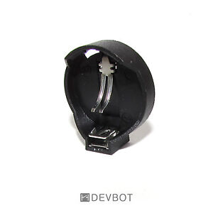 support 1 pile bouton cr2025 cr2032 coupleur batterie. Black Bedroom Furniture Sets. Home Design Ideas