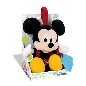 Mickey Mouse Baby Toy Cuddle & Learn Talking Singing Plush Toy NEW BOXED