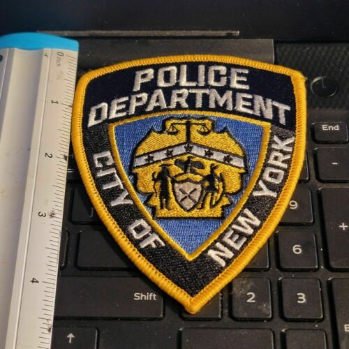 OLD -- NYPD SHOULDER PATCH_-