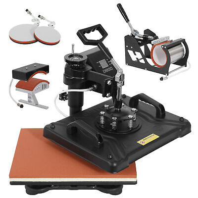 Heat Press Machine Swing Away Digital Sublimation For T-shirts Caps Mouse Pads