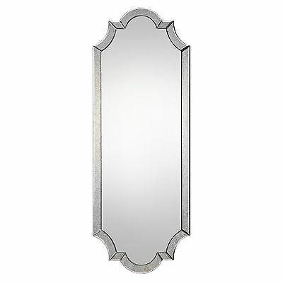 "Oversized 64"" Shaped Tall Venetian Wall Mirror 