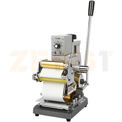 Hot Foil Stamping Machine 10x13cm Leather Bronzing Pressure Mark Machine For Pvc