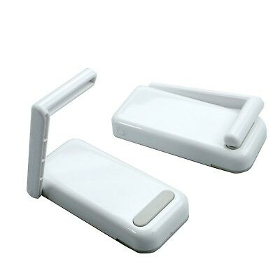 Magnetic Paper Towel Holder Toilet Roll Paper Holder Size Adjustable White