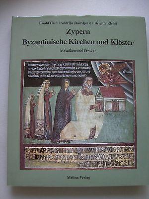 Zypern Byzantinische Kirchen Klöster Mosaiken Fresken 1996
