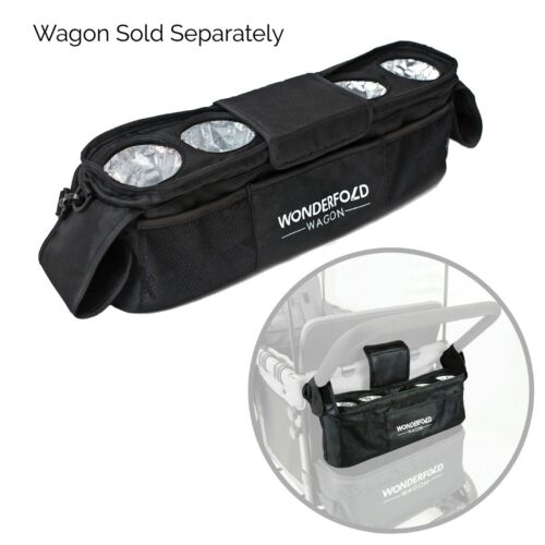 WonderFold Universal Parent Console with 4 Insulated Cup Holders