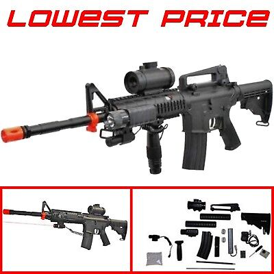 Semi Auto Airsoft Sniper - M83 Electric Tactical Full Automatic Airsoft Gun Rifle Semi Auto AEG Sniper