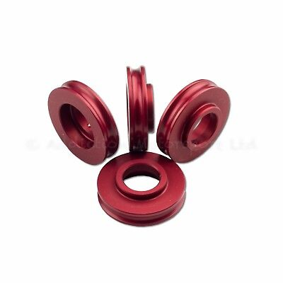 5mm Red Spacers for Radial Brake Calipers set of 4 GSXR R1 R6 ZX6R ZX10R - Caliper Spacer