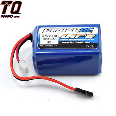 PTK-5162 LiFe Hump Receiver Battery Pack (6.6V / 1800mAh w/ Balancer Plug) (Hump Receiver Pack)
