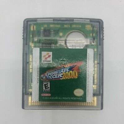 International Superstar Soccer 2000 GBC Game Boy Color TESTED GAME ONLY