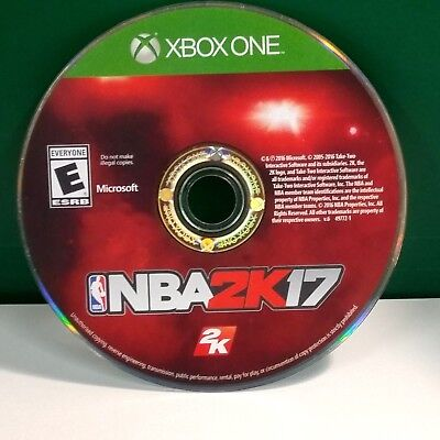 Nba 2K17 Early Tip Off Weekend  Microsoft Xbox One  2016  Disc Only 11813