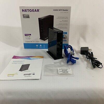NETGEAR N300 Single Band WiFi Router WNR2000