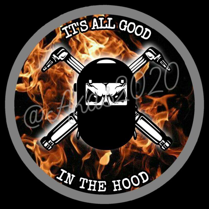 2020 Welding Hood Hard Hat Sticker For Welders Funny
