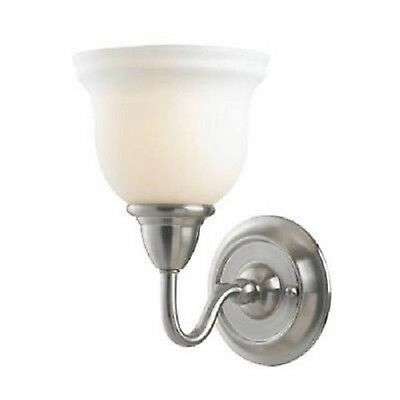 (Wall Light Satin Nickel Sconce Bath Light - Montpellier Collection)