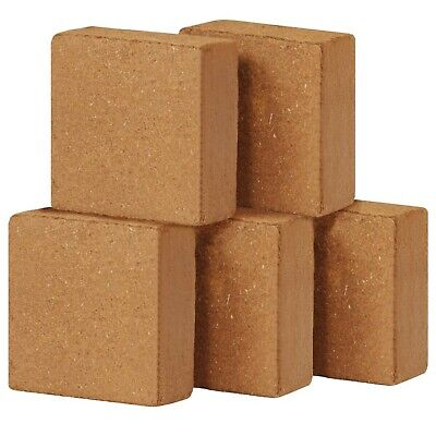 Coir Blocks Organic Compost Block Soil Bricks Gardening Plants Fibre 5 Pieces
