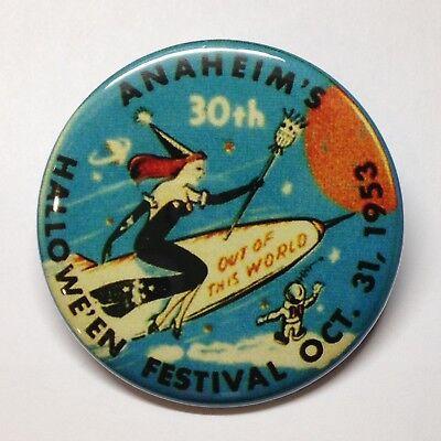 Halloween Festival Anaheim Vintage Style Fridge Magnet Buy 1 Get 1 FREE