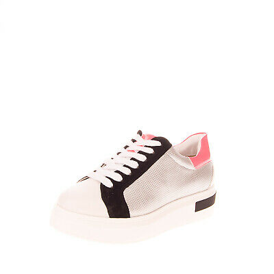 RRP €175 ALEXANDER SMITH Sneakers EU 38 UK 5 US 8 Metallic Colour Block Logo