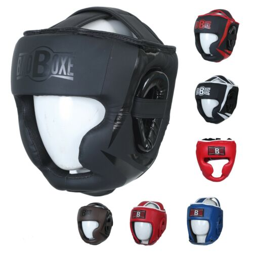 Badboxe MMA / Boxing Head Gear Made Of Artificial Leather