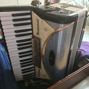 Vintage Settimio Soprani (Contino model) 120 Bass Accordion