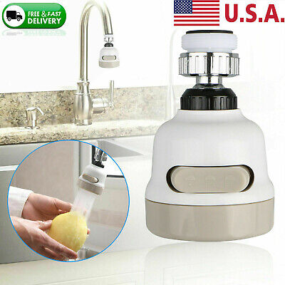 360 Water - 360° Rotatable Moveable Kitchen Tap Head Faucet Water Saving Filter Sprayer Tool