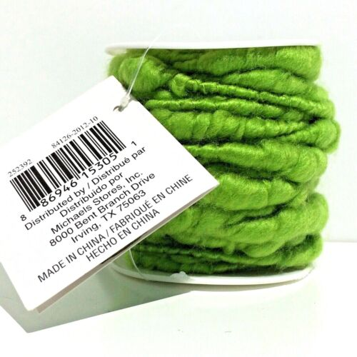 Celebrate It Spring Decorative Wire lime green 32.8 feet UPC 886946153051 NEW