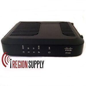 Cisco Dpc3008 Docsis 3 0 Cable Modem Linksys Charter Rcn
