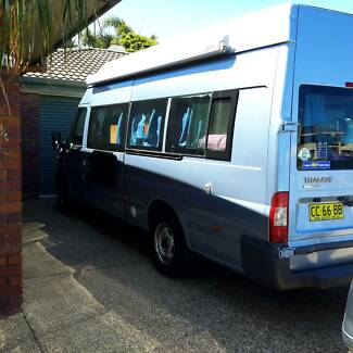 ford transit motorhome Bogangar Tweed Heads Area Preview