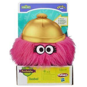 Sesame Street Playskool The Furchester Hotel Isabel Soft Plush Toy & Sound C30