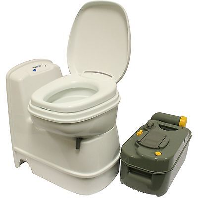 Thetford C200 CS Electric Flush Swivel Cassette Toilet Caravan Motorhome
